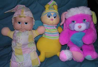 80 S Toys Are Weird But Cute Glow Friends And Popple