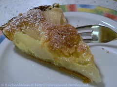 French Pear Tart 002