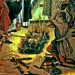 Book Burning - Quema de Libros - St Dominic and the Albigenses