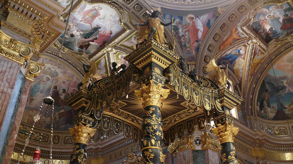 High Altar Canopy St Georges Basilica Gozo Built