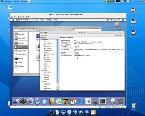 Mac OS X on VirtualBox | VirtualBox can run Mac OS X as a ...