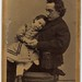 Edwin Booth and his daughter Edwina
