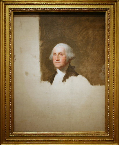 George Washington (The Athenaeum Portrait), First President (1789-1797) | by cliff1066™