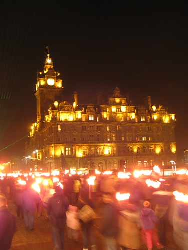 Balmoral Hotel & Torchlight Procession | by crazyBobcat
