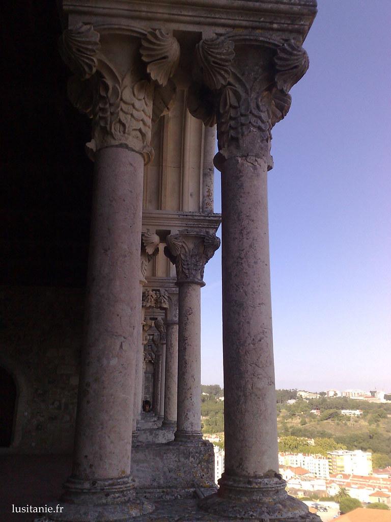 Colonnes des galeries