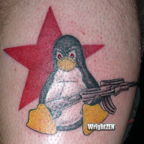 Linux Penguin Tattoo | by wrightzen