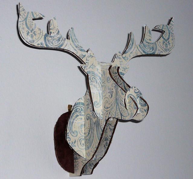 Decorative deer head wall decor : Deer head wall decor flickr photo sharing