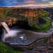 Sunset at Palouse Falls HDR
