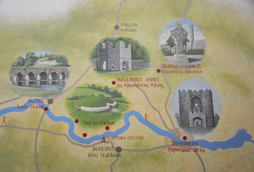 Valley of the River Boyne Map  River Boyne Co Meath Irel  Flickr