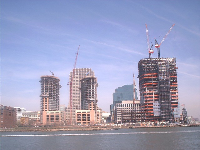 Goldman Sachs Tower Construction Jersey City 2002 Flickr