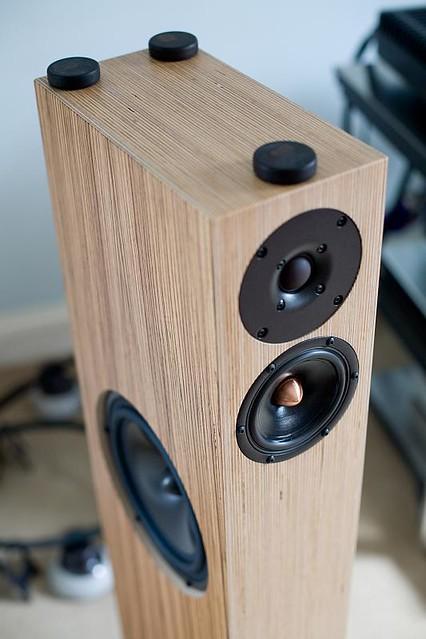 Penaudio Serenade Shun Mook Mpingo Discs On Speakers