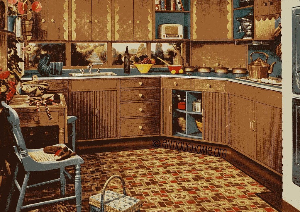 1950s Kitchen Interior Pictures 1950 S Linoleum