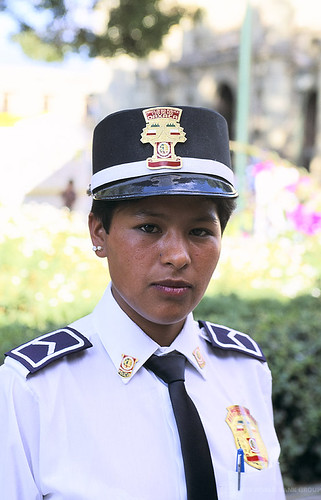 Portrait of police woman. Mexico | by World Bank Photo Collection