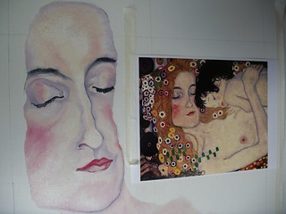 Klimt - Painting in Progress | by art makes me smile