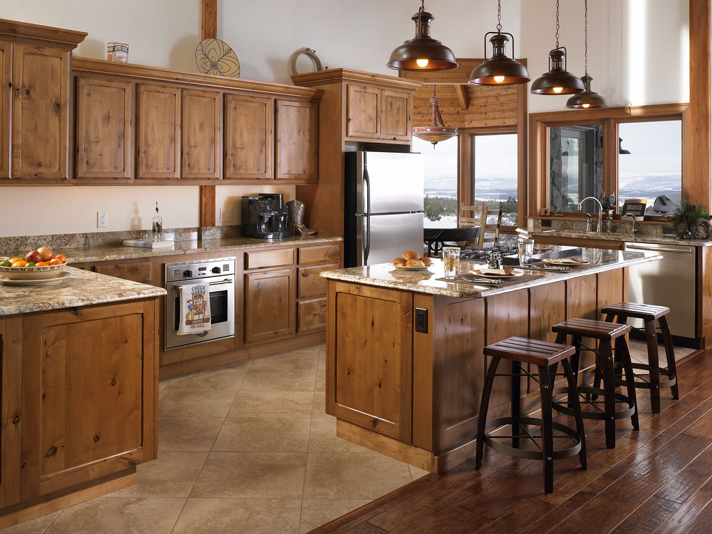 Kitchen Of Lindal Home In Colorado Kitchen Of A Custom