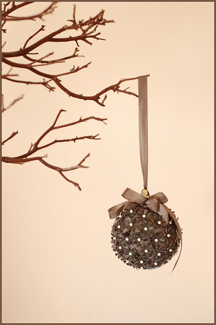 Paper flower pomander ball for my weekly diy post on once flickr paper flower pomander ball by lalalaurie mightylinksfo