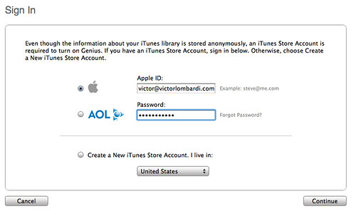 iTunes Sign-In Screen | There's a gestalt flaw in this ...