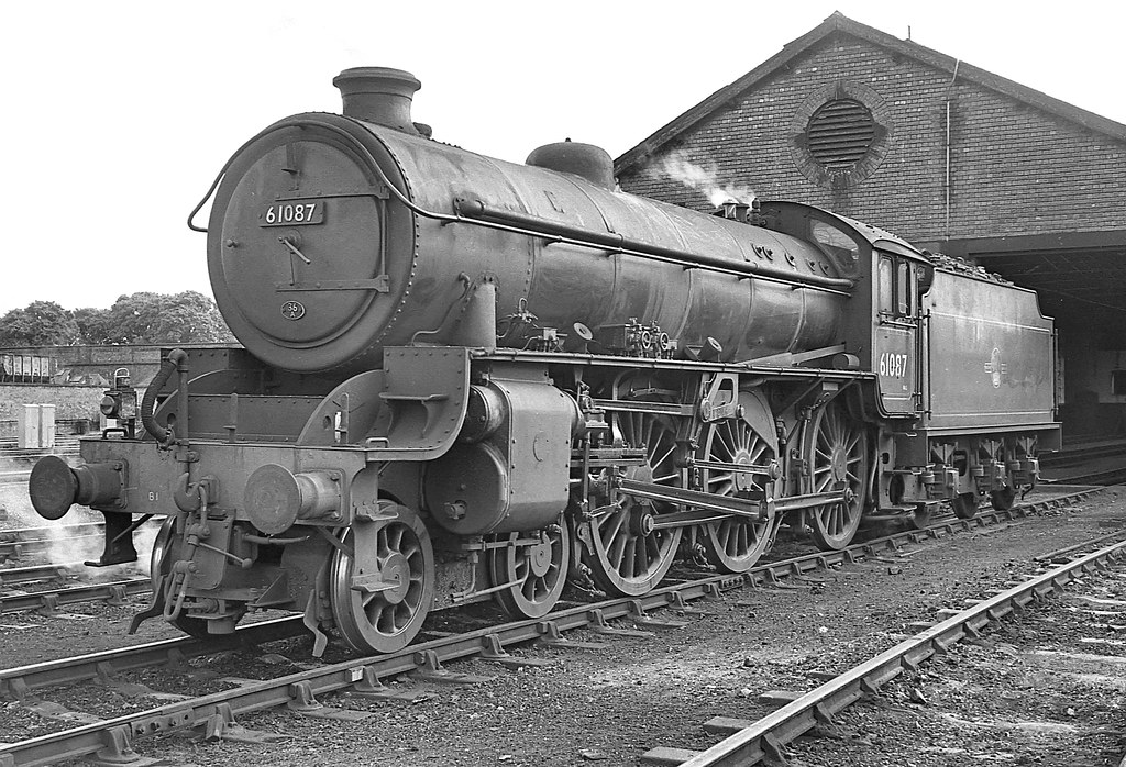 Class B1 No 61087 Bridlington Shed 16 August 1963 Flickr