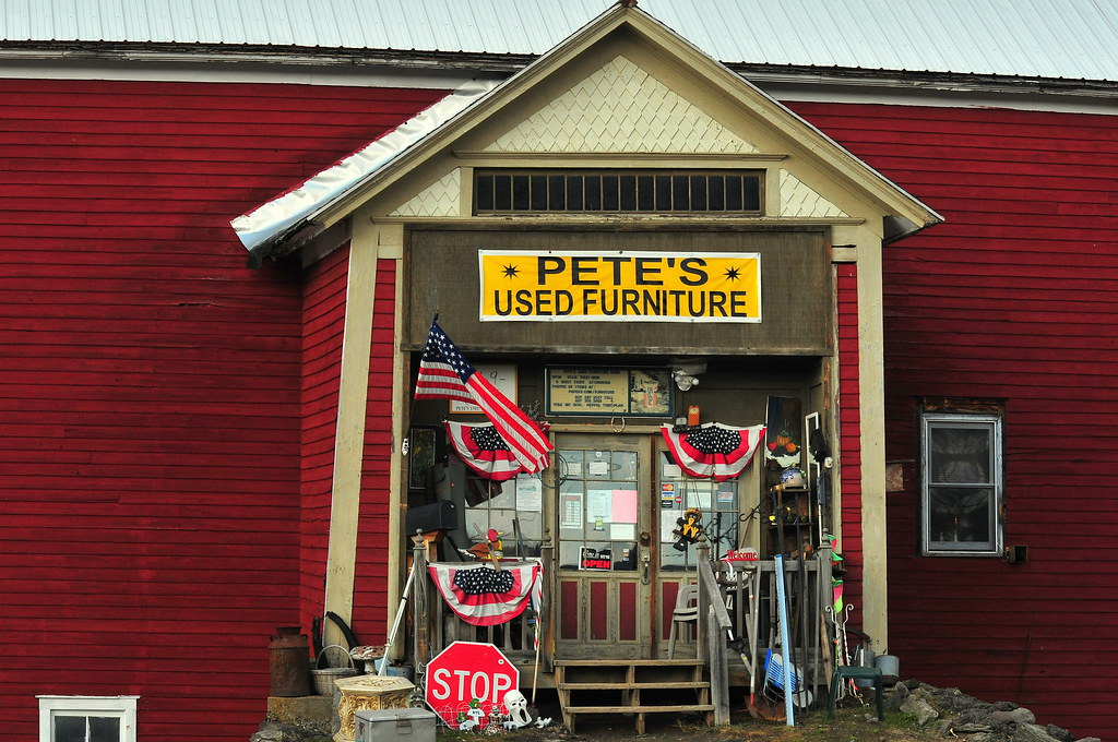 Pete 39 s used furniture store a little piece of americana for K furniture mall karur