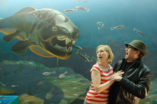 Attack of the Giant Prehistoric Fish! | by daisylind