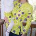 Maidenhair in Yellow shirt and skirt by Ann Tuck.