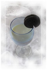 ice cold milk & an oreo cookie | by 19melissa68