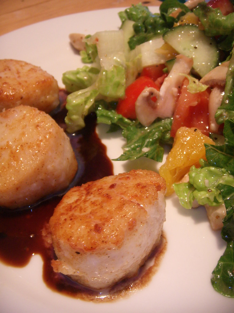 how to cook crispy scallops