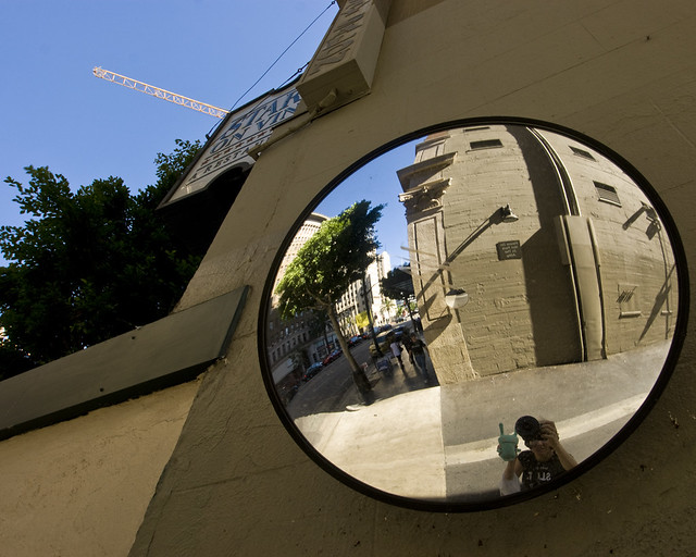 Holland And Holland >> A Wide Angle Photo Of A Wide Angle Mirror Through A Wide A ...