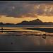Puesta de sol en Palawan, Filipinas...