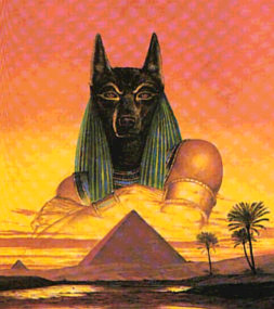 The Pyramid Anubis