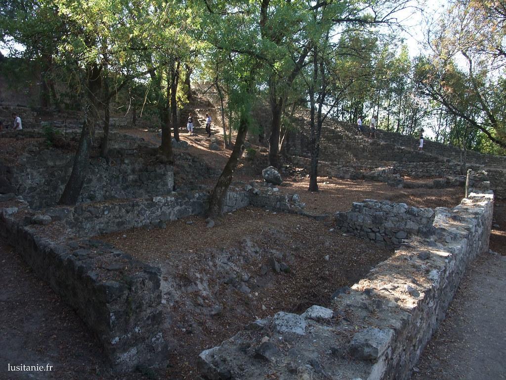 Le château n'était qu'un champ de ruines au début du siècle dernier