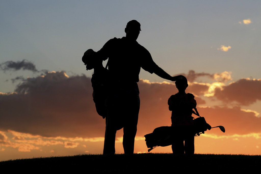 family golf evening view of golf ground family golf at t flickr. Black Bedroom Furniture Sets. Home Design Ideas