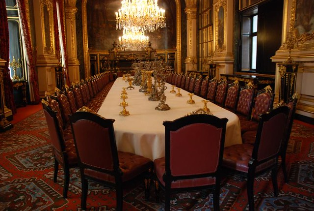 Large dining room napoleon iii apartments paris france for Most beautiful dining rooms in paris