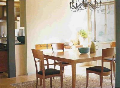 Simple beautiful dining room modern scandanavian furnitu for Simple dining room