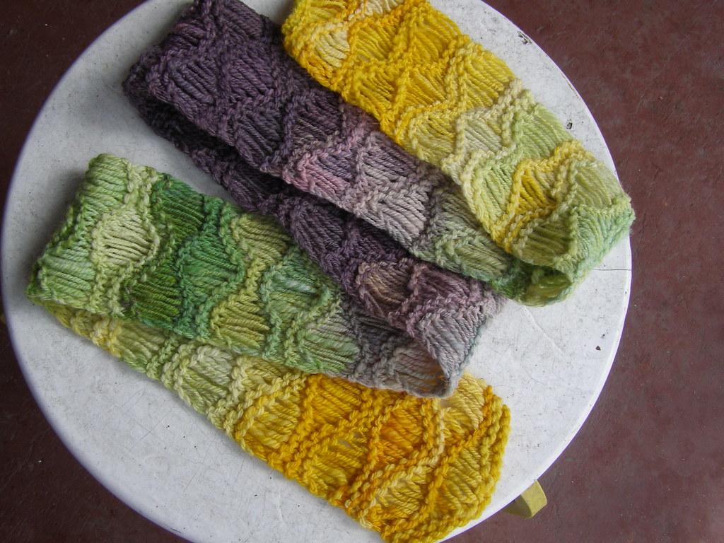 Nice Waterfall Scarf Knitting Pattern Component - Decke Stricken ...