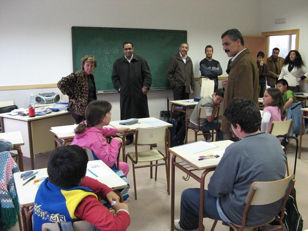 Educaci n intercambio marruecos imagen de la visita de for Educacion exterior marruecos