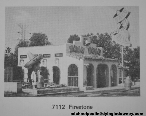 The Original Taco Bell In Downey California Photo Was