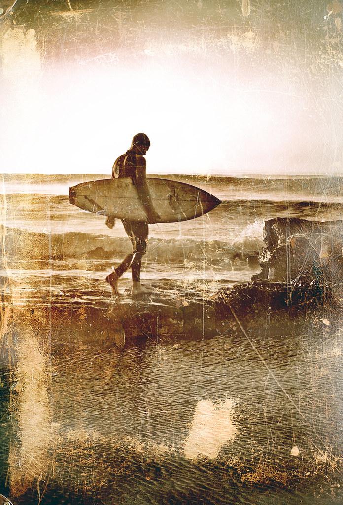 Surfing Vintage 45