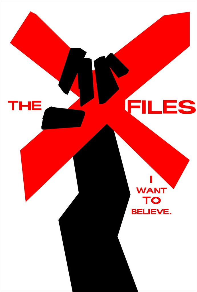 xfiles saul bass movie poster ive been sent a bunch of