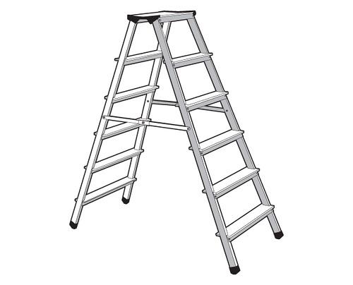 vector step ladder