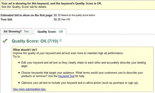 New AdWords Score | by rustybrick