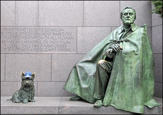 The Peace Hat, FDR (WWll) and Fala, Too! | by Tony Fischer Photography