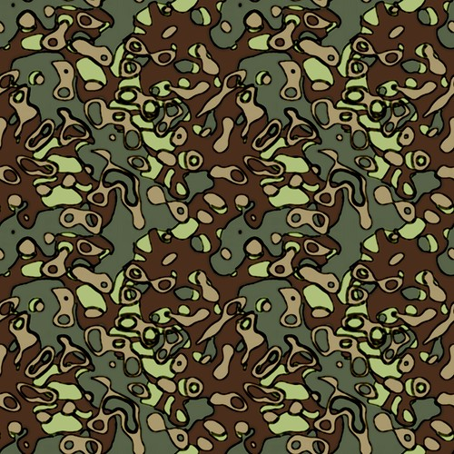 camouflage texture - seamless tiling | made with toolbox. | Simon Strandgaard | Flickr
