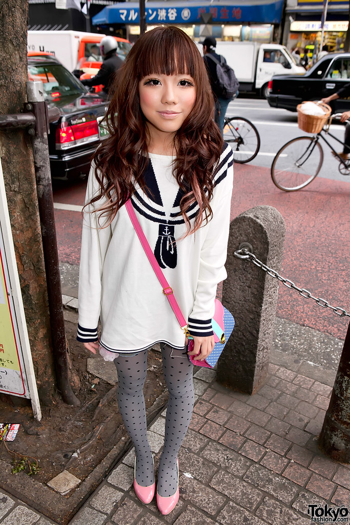 Shibuya Sailor Girl Fashion Stylish Japanese Girl In A Sai Flickr