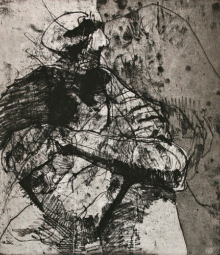 soft ground intaglio etching | by lumenredundas