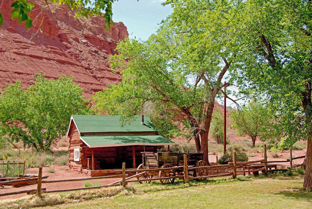 Lonely Dell Ranch - Lee's Ferry Arizona | This is one of ...
