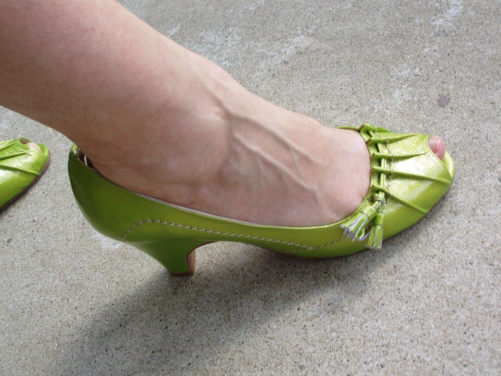 Lime Green Shoes Size