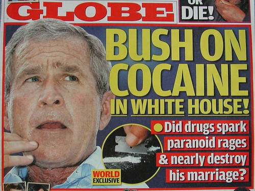 Bush On Cocaine In White House So The Truth Finally