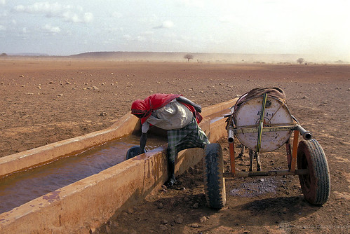 Gathering water | by World Bank Photo Collection