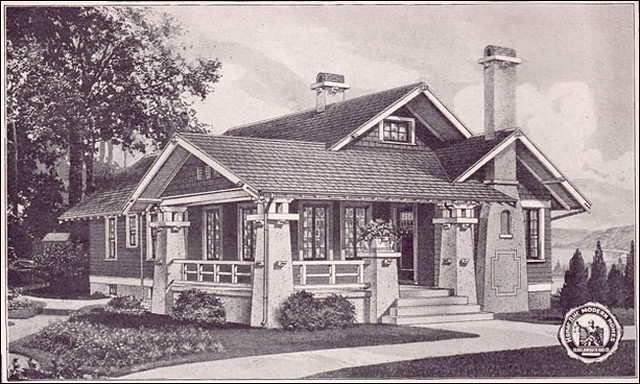 1923 Sears Kit House Avalon The Avalon Has A Big